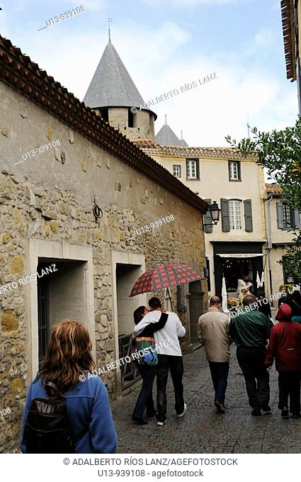 Carcassonne, Languedoc, France, Europe