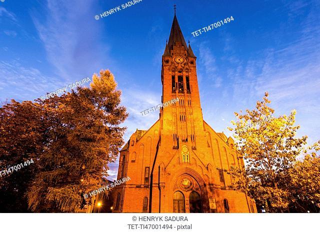 Saint Andrew Bobola Church Bydgoszcz, Kuyavian-Pomeranian, Poland
