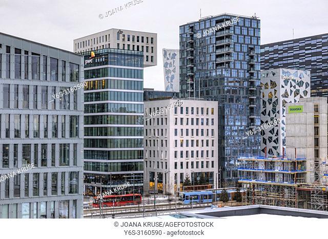 Oslo, Barcode, Norway, Europe