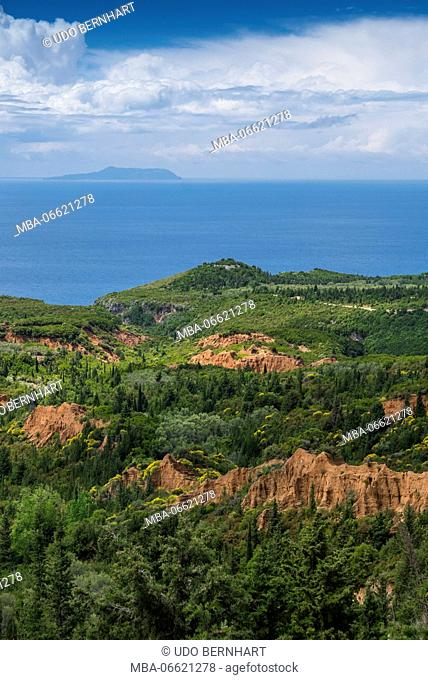Albania, Balkan Peninsula, Southeast Europe, the republic Albania, Gjipe Canyon close Vlore
