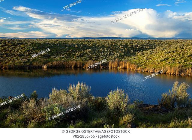 Burke Lake, Quincy Lakes Unit - Desert Basin Wildlife Area, Washington
