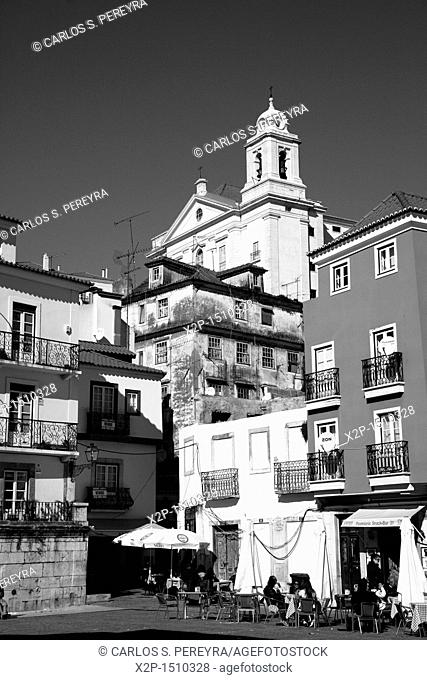 View of Alfama district  One of the oldest parts of Lisbon  Portugal