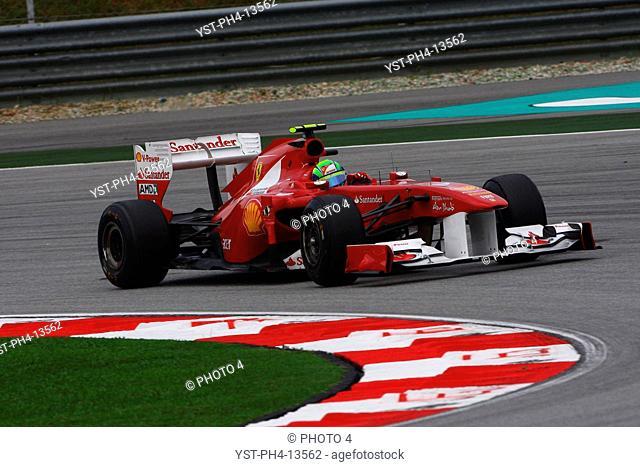 Felipe Massa BRA, Malaysian Grand Prix, Sepang, Malaysia