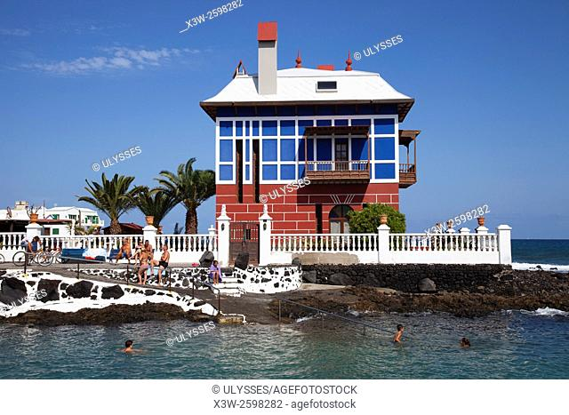 Arrieta village, Lanzarote island, Canary archipelago, Spain, Europe