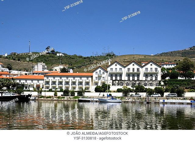 The small city of Pinhão, one of the hubs of Douro Valley