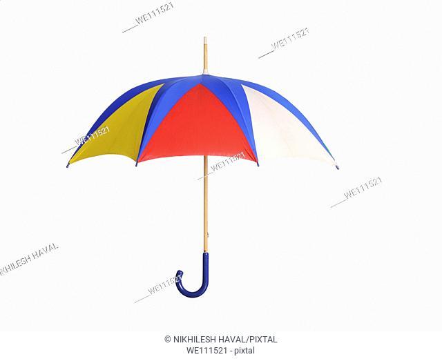 Colourful open Umbrella