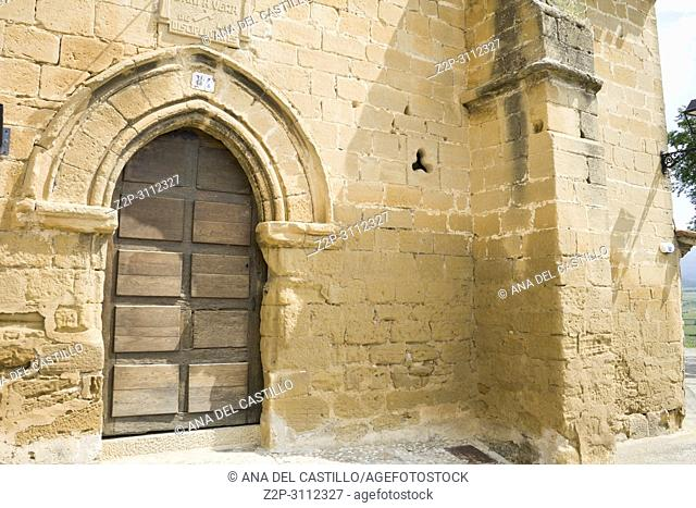 San Vicente de la Sonsierra in La Rioja Spain
