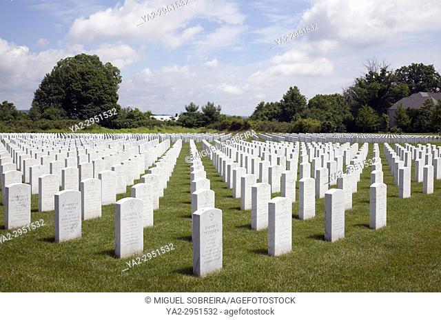 Washington Crossing National Cemetery in Newtown, Bucks County - USA