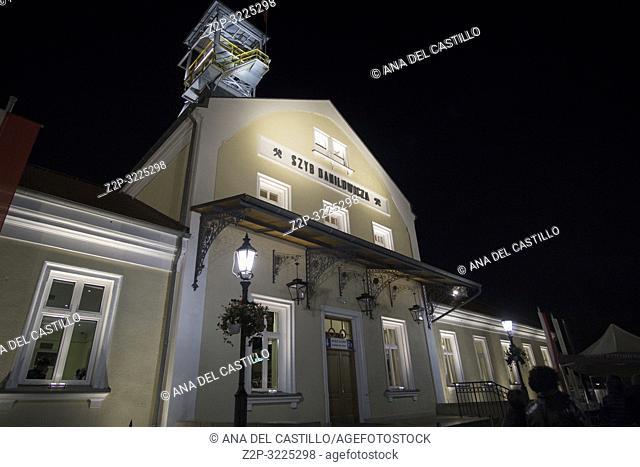 KRAKOW POLAND ON SEPTEMBER 24, 2018: Salt Mine in Wieliczka is UNESCO World Heritage Site