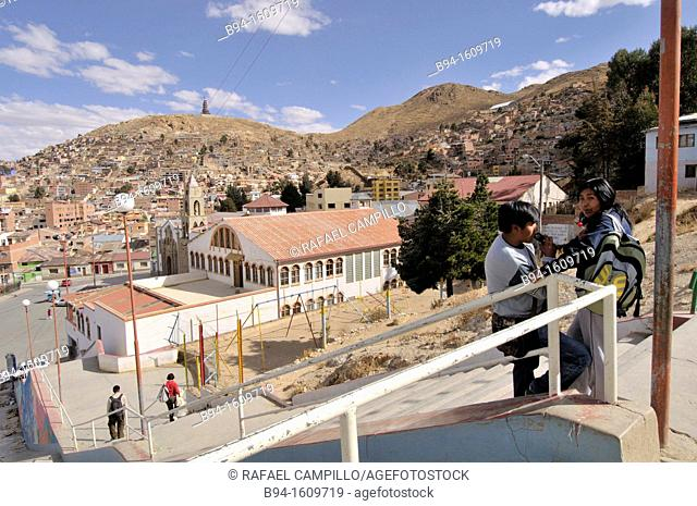 Oruro is a city in Bolivia, located about equidistant between La Paz and Sucre at approximately 3710 meters above sea level
