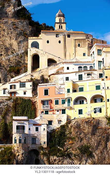 Buildings of Amalfi Town