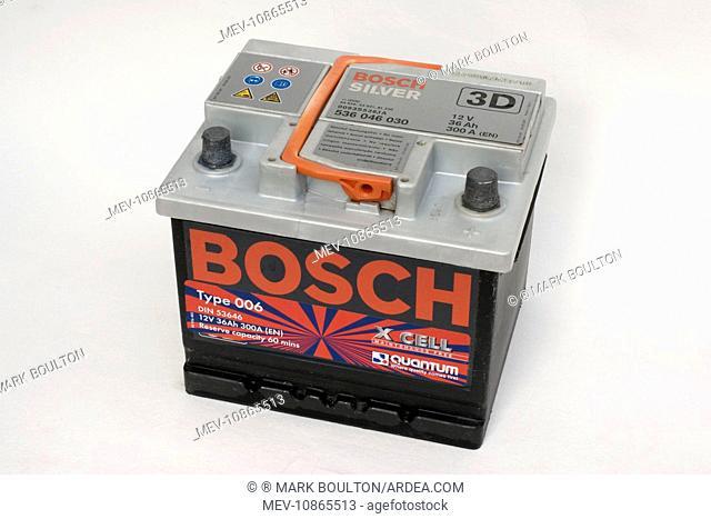 Battery - Bosch silver lead acid 12 volt 36A amp hour car battery