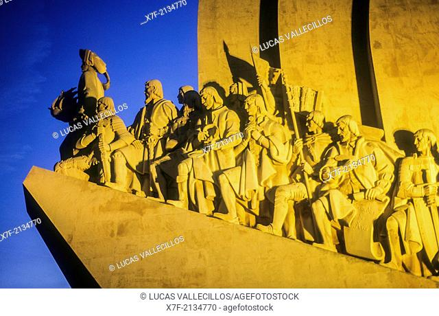 Monument of the Discoveries. Belem quarter. Lisbon, Portugal