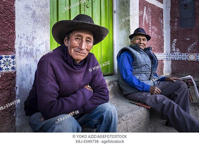 Peru, Coporaque, portrait