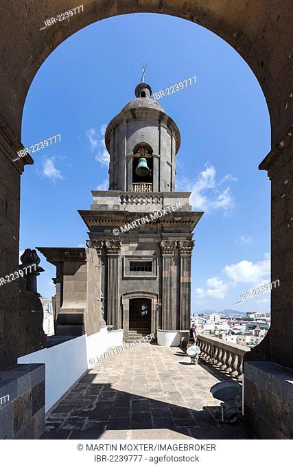 Cathedral of Santa Ana, Plaza Santa Ana square, historic town centre of Las Palmas, Las Palmas de Gran Canaria, Gran Canaria, Canary Islands, Spain, Europe