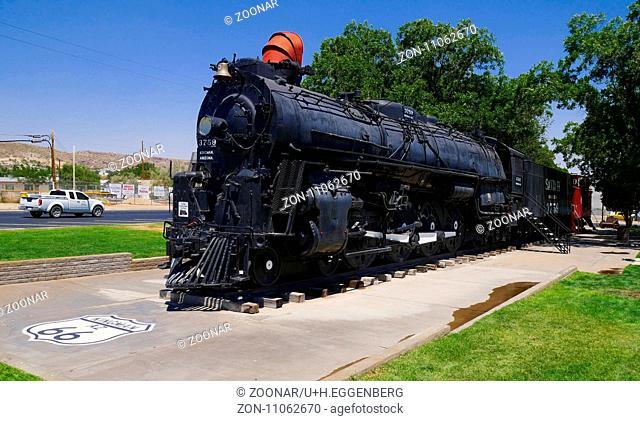 Locomotive Park,Kingman,Route 66