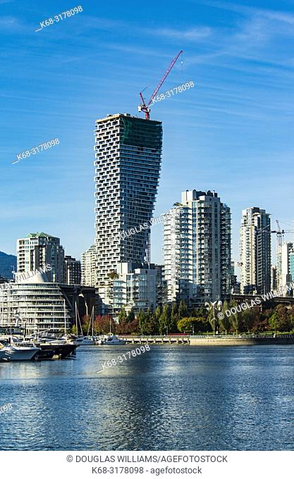 Vancouver House, from False Creek, Vancouver, BC, Canada