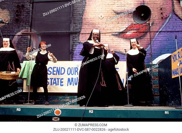 1993, Film Title: SISTER ACT 2: BACK IN THE HABIT, Director: BILL DUKE, Studio: TOUCHSTONE, Pictured: CLOTHING, BILL DUKE, WHOOPI GOLDBERG, WENDY MAKKENA