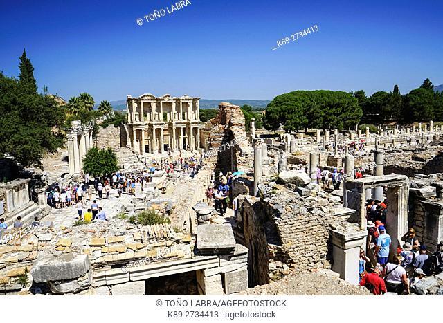 Ephesos. Ancient Greece. Asia Minor. Turkey
