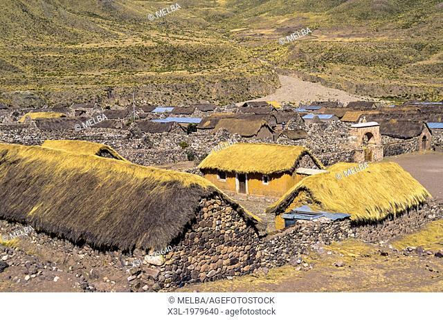 Sibayo Cañon del Colca. Peru