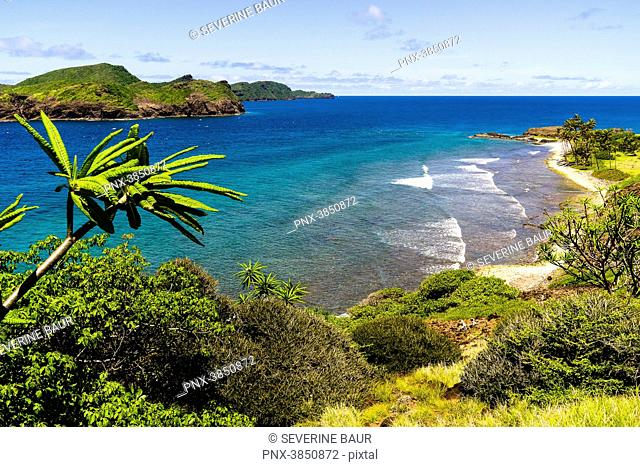 Bird's eye view, Petit Nevis, Saint-Vincent and the Grenadines, West Indies