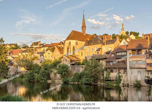 France, Indre, Argenton sur Creuse, Creuse valley