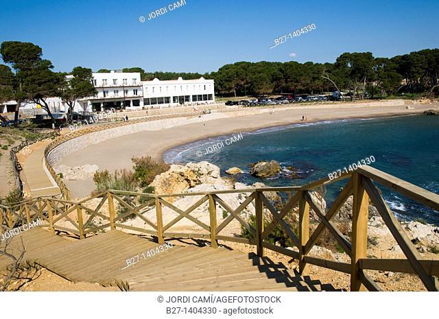 Cami de ronda, L'Escala  Alt Emporda, Costa Brava, Girona province, Catalonia, Spain