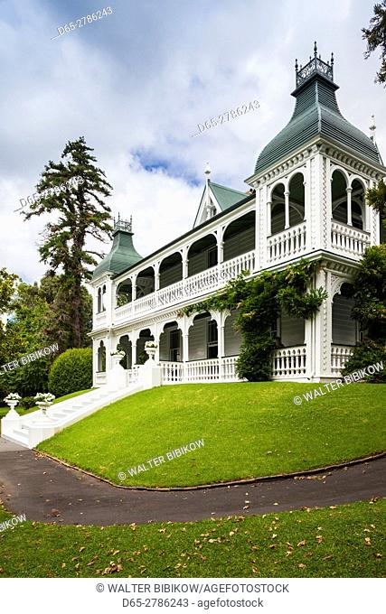 New Zealand, North Island, Auckland, Alberton, colonial mansion, 1863
