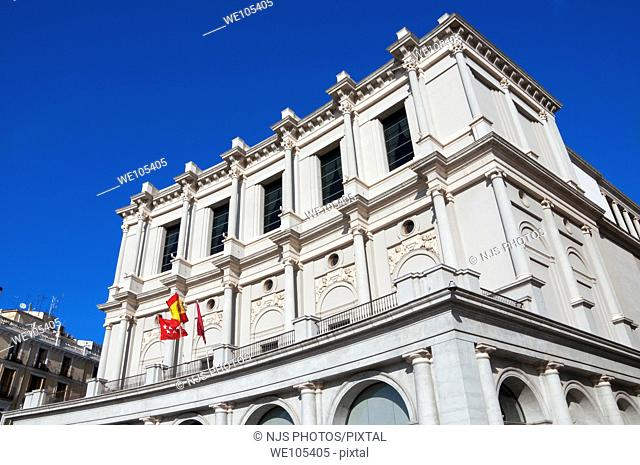 """Teatro Real"", Royal Theatre, Oriente Square, Comunidad de Madrid, Spain, Europe"