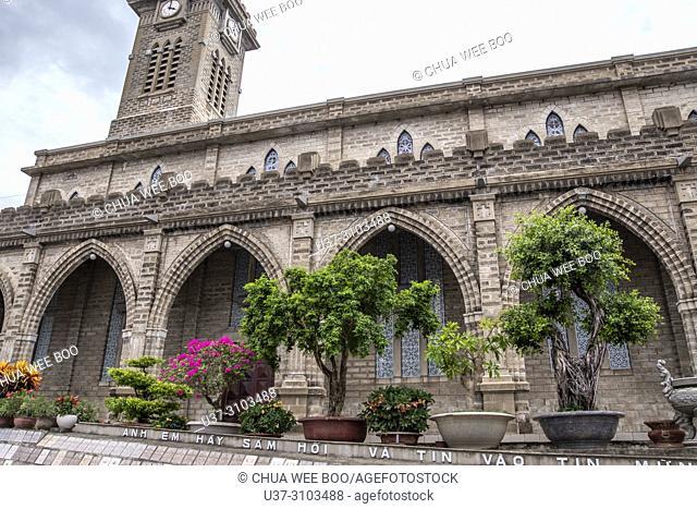 The Stone Cathedral Church, Nha Trang, Vietnam