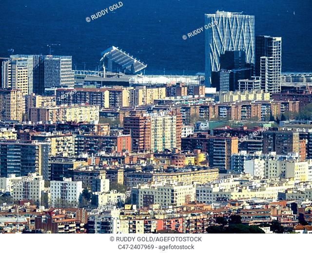 Forum area. Barcelona, Catalonia, Spain