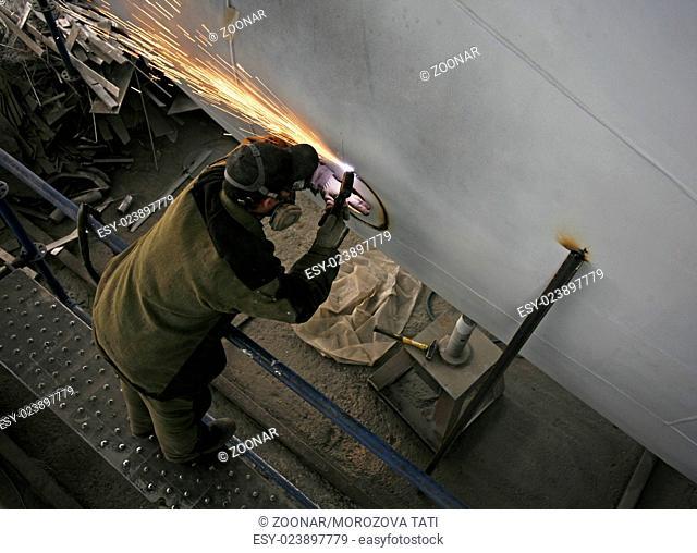 Factory welders