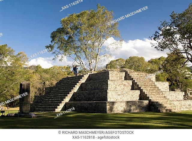 Mound  4, Copan archaeological park, Copan Ruinas, Honduras