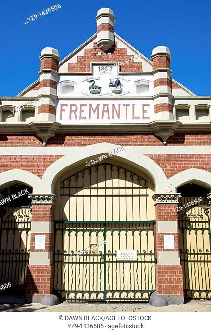 Fremantle Market Building Entrance, Fremantle, Western Australia, Australia