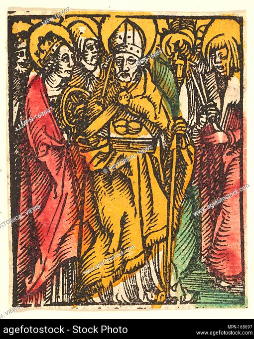 Ten Helpers in Need (copy). Artist: After Hans Baldung (called Hans Baldung Grien) (German, Schwäbisch Gmünd (?) 1484/85-1545 Strasbourg (Strassburg)); Date:...