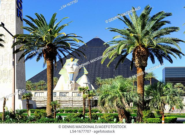 Luxor Hotel Las Vegas Nevada Sin City Gambling Capital NV