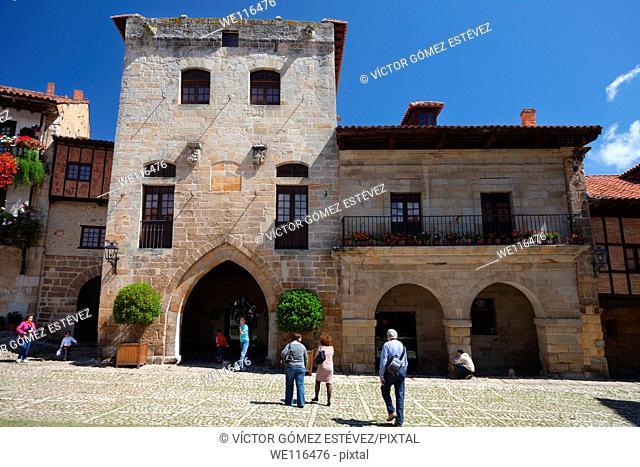 Palace in Santillana del Mar, Cantabria, Spain