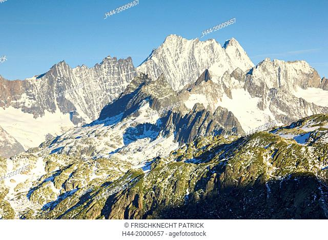Lauteraarhorn mountain in, Switzerland
