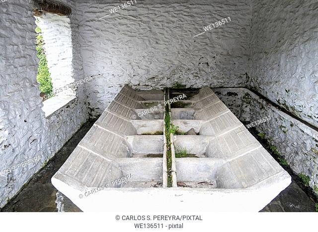Architecture detail in Mecina-Fondales, La Alpujarra, Granada province, Andalusia, Spain