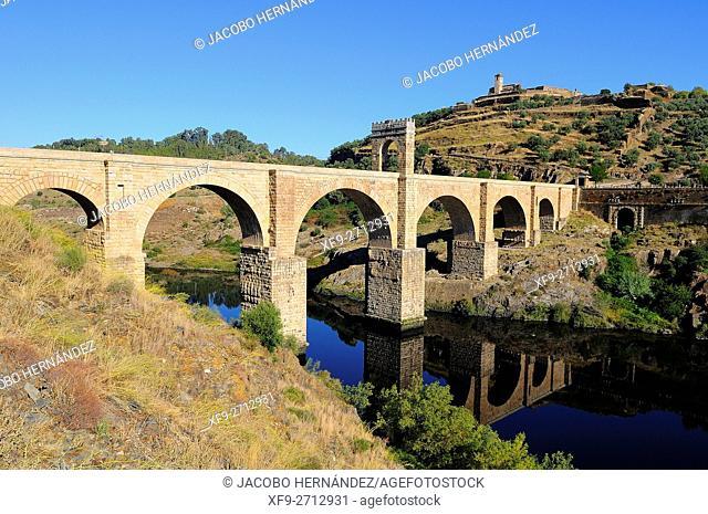 Roman bridge of Alcantara.Cáceres province.Extremadura.Spain