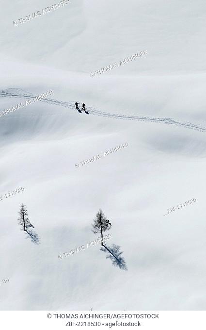 Skitour Wörschach, Steiermark, Österreich