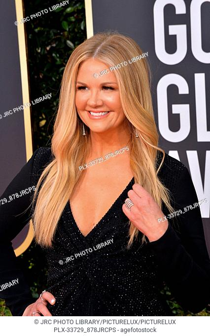 LOS ANGELES, CA. January 06, 2019: Nancy O'Dell at the 2019 Golden Globe Awards at the Beverly Hilton Hotel. © 2019 JRC Photo Library/PictureLux ALL RIGHTS...