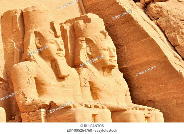 Abu Simbel Great Temple in Egypt