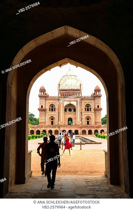 Picture taken at Humayun's Tomb, Delhi, India