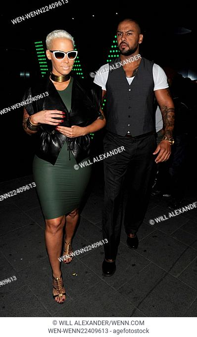 Amber Rose leaving her hotel and heading to a nearby nightclub Featuring: Amber Rose Where: London, United Kingdom When: 21 Apr 2015 Credit: Will Alexander/WENN