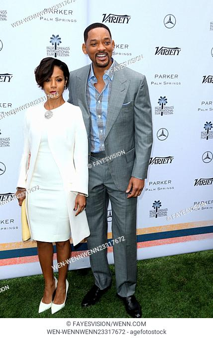 Variety's Creative Impact Awards And 10 Directors To Watch Brunch At The 27th Annual Palm Springs International Film Festival Featuring: Jada Pinkett Smith