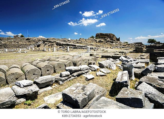 Pergamon. Ancient Greece. Asia Minor. Turkey