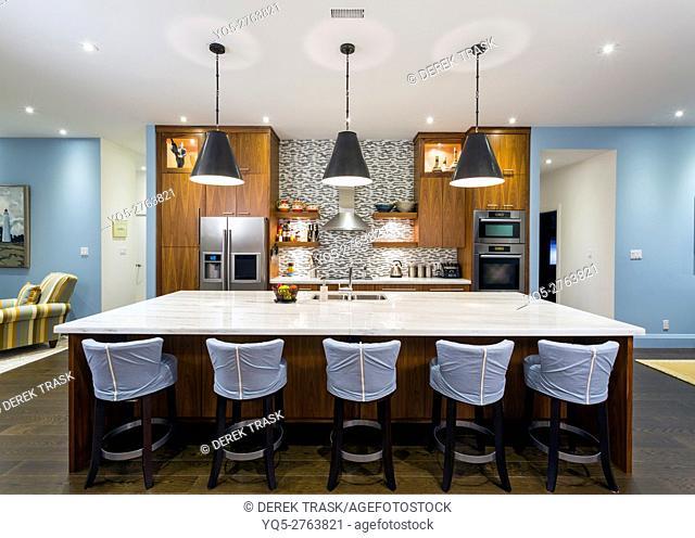 North America, Canada, Ontario, modern kitchen