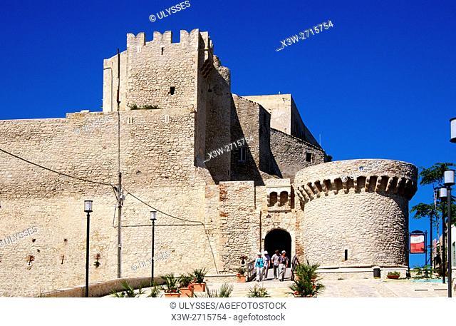 Fortress, San Nicola island, Tremiti islands, Foggia province, Puglia, Italy, Europe