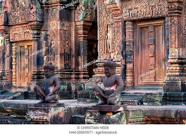Asia, Southeast Asia, asian, Cambodia, cambodian, Siem Reap, UNESCO, World Heritage, Angkor, Banteay Srei